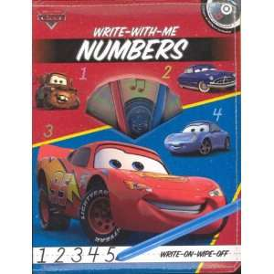 Disney/Pixar Cars Write With Me Numbers (Write on wipe off