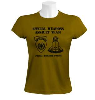 Sayeret Magav Women T Shirt israel army special forces