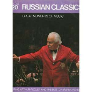 Russian Classics Vinyl LP Record: Arthur Fiedler, Boston Pops