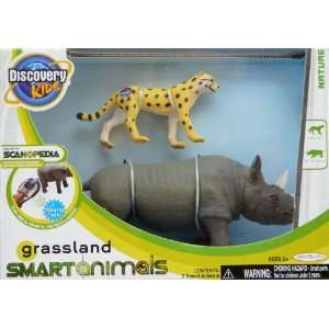 Kids Scanopedia Grassland Smart Animals Zebra & Giraffe: Toys & Games
