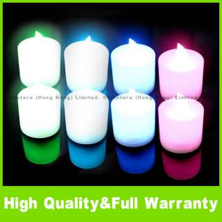 Color LED Changing Electronic Flameless Candle Lamp