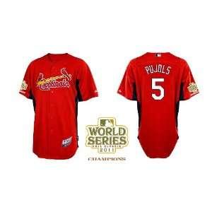 St. Louis Cardinals Authentic MLB Jerseys Albert Pujols