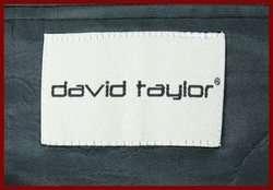 DAVID TAYLOR MENS NAVY BLUE BLAZER w/ GOLD BTNS 42 L 42L