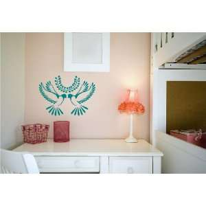Removable Wall Decals  Bird Decorations