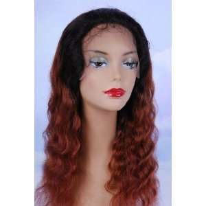 100% INDIAN REMY HUMAN HAIR 18 DEEP WAVE TWO TONE FULL