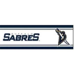 NHL Buffalo Sabres   Boys Hockey Decor Wallpaper Border