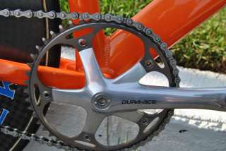 Motobecane Team Track 56cm with Cane Creek 85mm carbon wheels