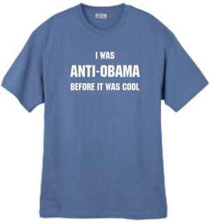 Shirt/Tank   Anti Obama before it was cool   political