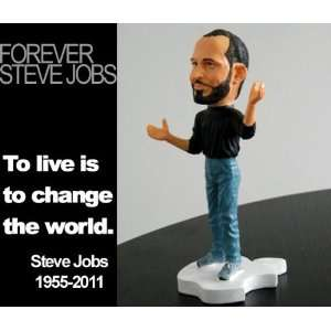 forever steve jobs jobs resin figure doll+: Toys & Games