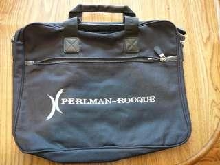 Briefcase Laptop Messenger Bag Case PERLMAN ROCQUE NEW