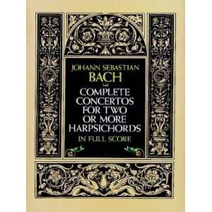 Scores) (9780486271361): Johann Sebastian Bach, Music Scores: Books