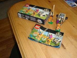 LEGO STAR WARS 7115 Gungan patrol 100% COMPLETE