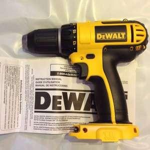 DeWalt DCD760 18V Li Ion 1/2 Cordless Drill/Driver Bare Tool uses