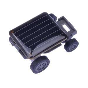 Solar Powered Robot Racing Car Toy Gadget Gift Black Toys & Games