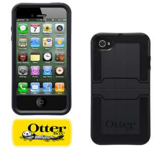 NEW BLACK OTTERBOX REFLEX SERIES HARD CASE COVER FOR iPHONE 4S & 4