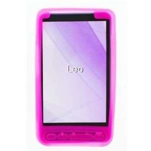 HTC HD2 Trans. Hot Pink Silicon Skin Case + Free