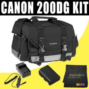 Canon 200DG Digital Camera Gadget Bag (Black) for Canon