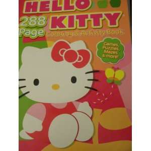 & Activity Book ~ 288 Pages (Kitty with Butterfly) Toys & Games