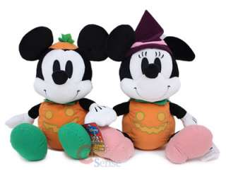 Disney Mickey & Minnie Mouse Plush Doll  Halloween 14
