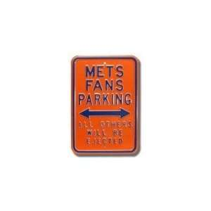 NEW YORK METS METS FANS PARKING All Others Will Be Ejected AUTHENTIC