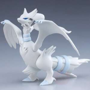 White Soft Vinyl Figure   9 Reshiram (Japanese Import) Toys & Games