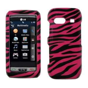 Zebra Skin Design Hard Cover Crystal Case Cell Phones & Accessories