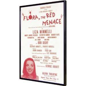 Flora the Red Menace (Broadway) 11x17 Framed Poster