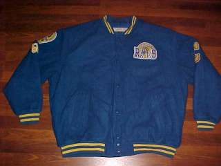 JC Freeman Sons NFL Cleveland Rams 1937 1945 Semi Wool Jacket 4XL Free