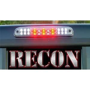 Recon 264124CL Ford F 150 Red LED Third Brake Light Kit with White LED