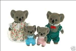 Sylvanian Families~KOALA Family Father Mother Son x 4