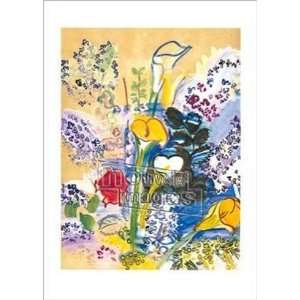 Bunch of Lilies   Poster by Raoul Dufy (19.75x27.5)
