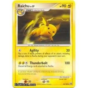 Raichu (Pokemon   Diamond and Pearl Majestic Dawn   Raichu