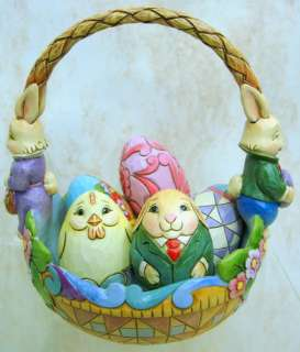 JIM SHORE Kitty so Pretty ENESCO Easter BASKET 4020610