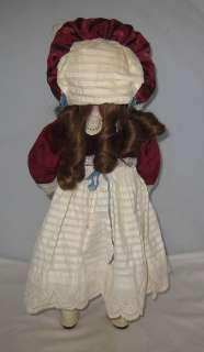 1880s GERMAN KESTNER BISQUE HEAD BEBE 18 TALL DOLL BROWN GLASS EYES