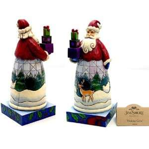 Enesco Jim Shore Santa With Gifts Holiday Gifts NEW