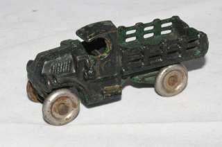 1920s Hubley Cast Iron Mack Stake Truck