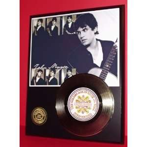John Mayer 24kt Gold Record LTD Edition Display ***FREE