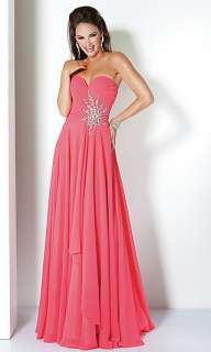 2012 Sweetheart Chiffon Long Evening Prom Dress Gown Party Beads