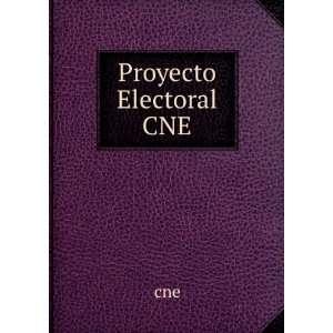 Proyecto Electoral CNE cne Books