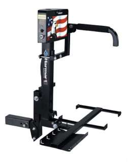 ELECTRIC POWER AUTOMOBILE WHEEL/CHAIR CARRIER LIFT RACK