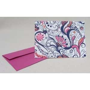 Elum Letterpress Coral Reef Blank Note Cards (Set of 6