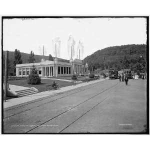 The Restaurant,Mountain Park station Mount Tom Railway,Mt