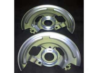 69 Camaro Firebird Front Disc Brake Backing Plates New