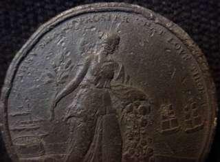 1801 Token Preliminaries Of Peace Between Great Britain & France
