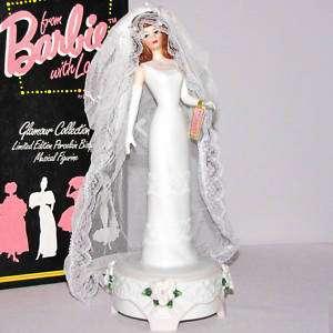 BARBIE~1995 Enesco Figurine~Porcelain~Bride Doll~MIB