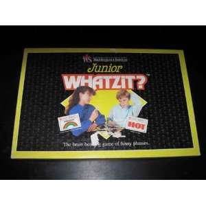 Junior WHATZIT? The brain game of funny phrases Toys & Games
