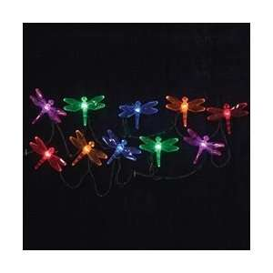 LED String Lights, Multi Color Dragonflies, Indoor Outdoor