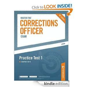 Master the Corrections Officer: Practice Test 1: Petersons: