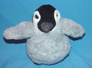 CHUBBY 8 COKE COCA COLA GRAY PENGUIN STUFFED PLUSH TOY L 42 BEANS IN