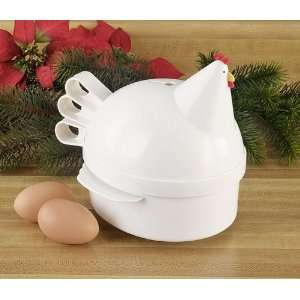 Henrietta Hen Egg Cooker: Kitchen & Dining